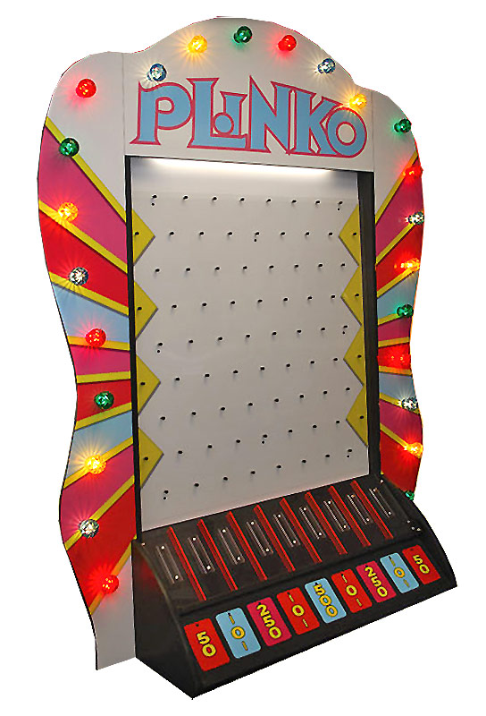 Giant Plinko Carnival Game Rental San Francisco California