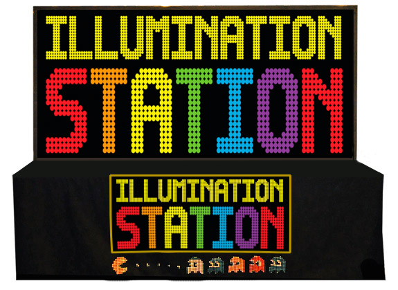 Illumination Station with a table