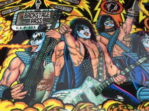 Kiss Pinball Video Amusement