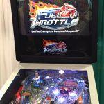 Full Throttle Highway pinball cabinet detail