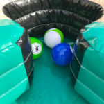 Giant Inflatable Billiards Pool Table pockets picnic event rental Golden Gate Park San Francisco