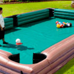 Giant Inflatable Billiards Pool Table rental Video Amusement