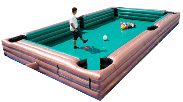 Giant Inflatable Billiards Pool Table rental