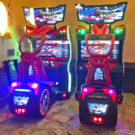 Crusin Blast Auto Racing Game renal at Bar Mitzvah from Video Amusement