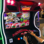Crusin Blast Racing Video Game simulator rental San Jose