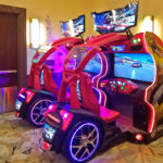 Crusin Blast racing driving game at rental event San Jose Bay Area from Video Amusement