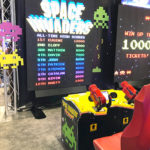 Giant Space Invaders Frenzy Interactive Arcade game for rent San Francisco from Video Amusement