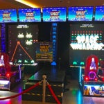 Giant Space Invaders Frenzy promotional rental Event Las Vegas Nevada