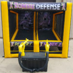 Cannonball Air Blaster Customized for Corporate Client Rental from Video Amusement