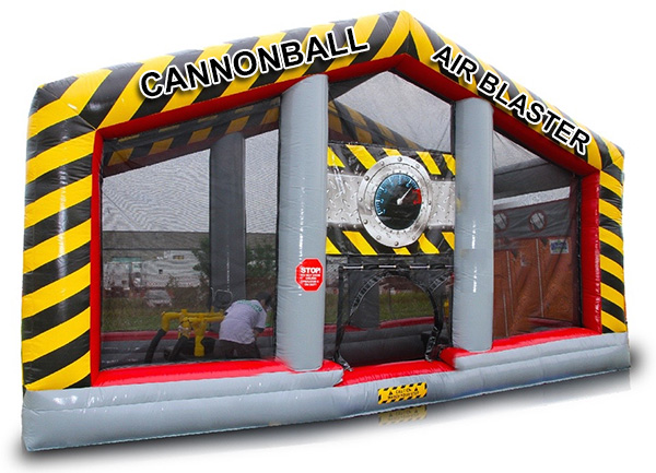 Cannonball Air Blaster Interactive Game San Francisco available from Video Amusement