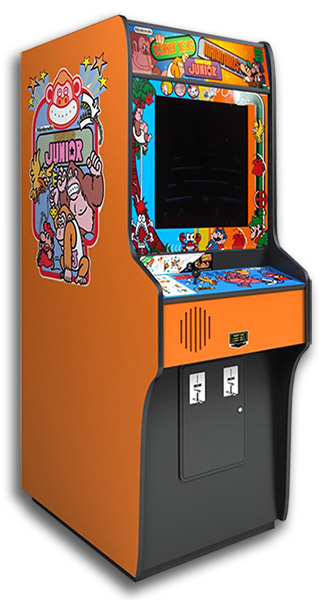 Donkey Kong Combo is remake of the classic arcade game.