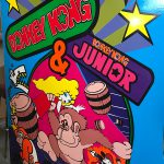 Donkey Kong - DK Jr.  - Marion Bros side art