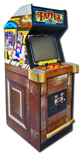 Classic 80's arcade game.Tapper Arcade Arcade Game Party Event Rental Video Amusement