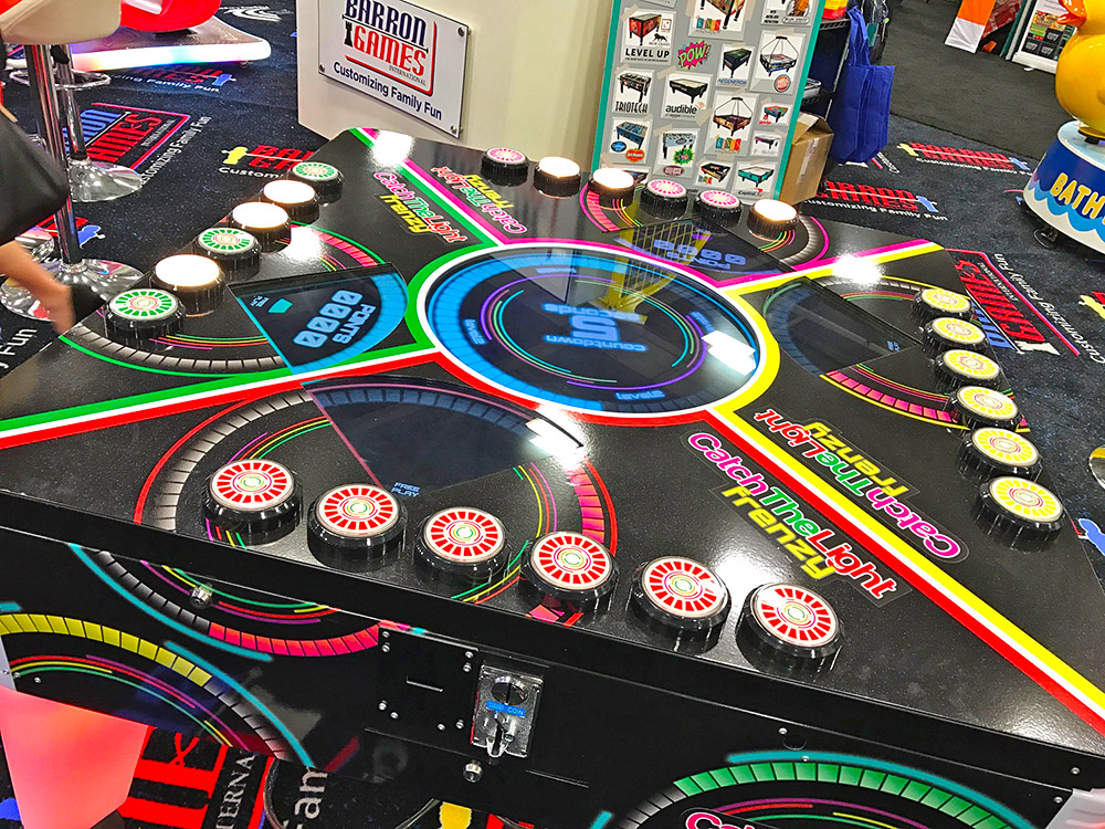 New 4-player skill game at Amusement EXPO 2017