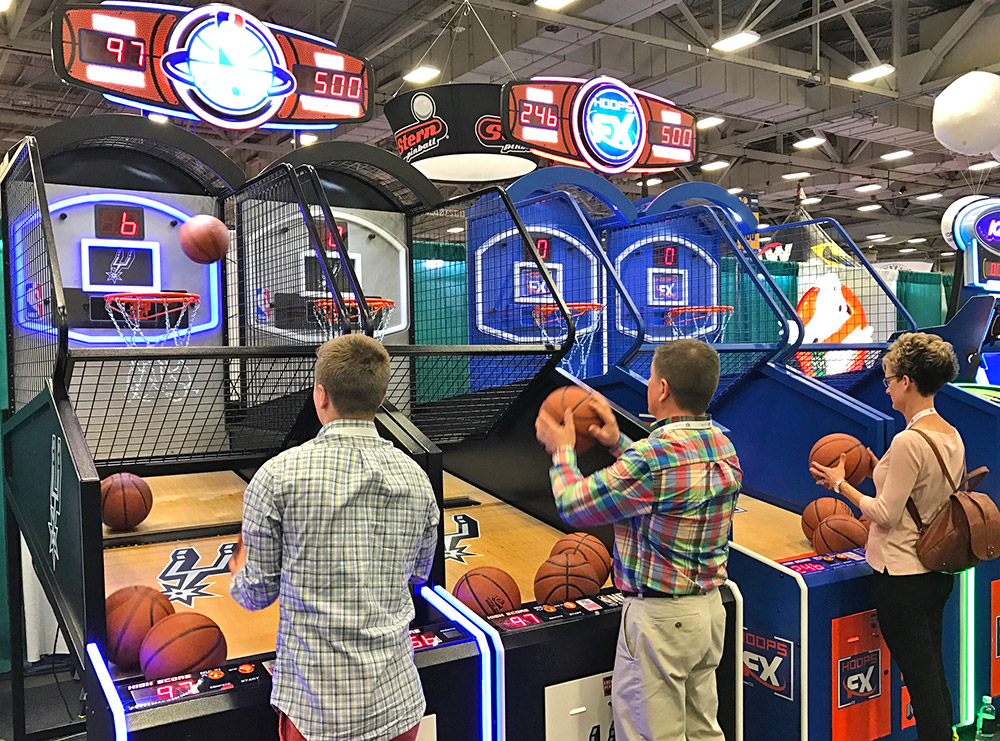 New basketball games from ICE Games