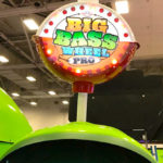 Spinning Arcade Game Big Bass Wheel Rental Los Angeles from Video Amusement