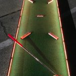 LED mini golf course 9