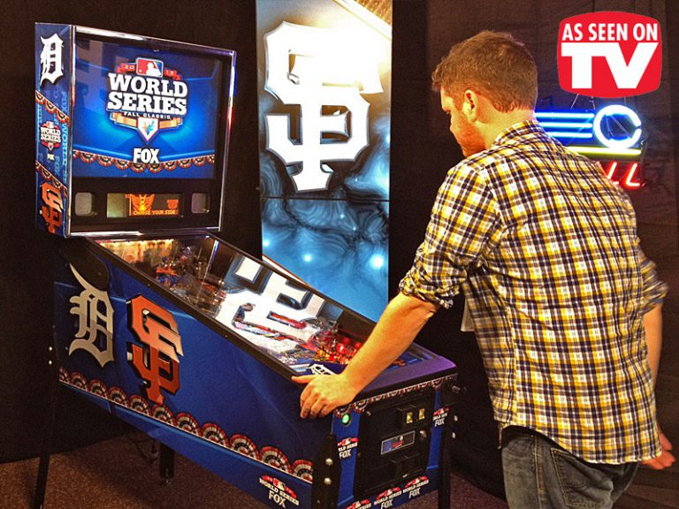 World-series-pinball-custom