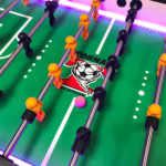 4 player LED Lighted Tornado Foosball Arcade Game Rental Video Amusement