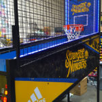 Corporate Branding NBA Hoops LED Basketball rental San Jose Bay Area