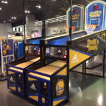 Customized NBA Hoops LED Basketball for rent San Francisco Bay Area from Video Amusement