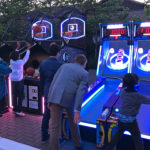 Ice Ball FX LED and branded NBA Game Time at Bar Mitzvah party San Francisco