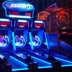 Ice Ball FX LED skee ball Rental Party Arcade Game from Video Amusement
