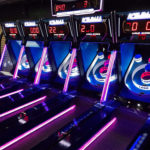 Ice Ball FX LED skeeball skee ball game rental San Francisco from Video Amusement