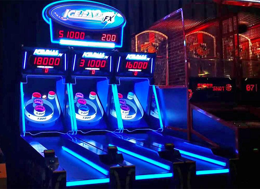 Ice Ball Fx Led Skee Ball Arcade Game Rental Video