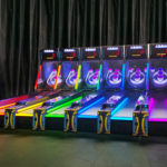 Ice Ball LED Glow Skeeball game rental Las Vegas provided by Video Amusement