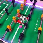 LED Lighted Tornado Foosball Arcade Game Rental Video Amusement