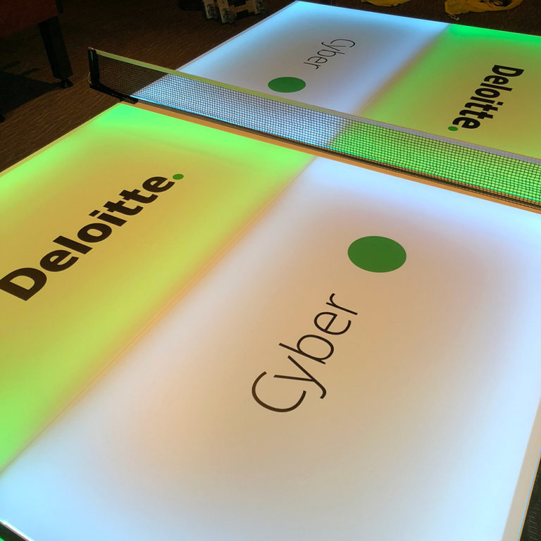 LED-Ping-Pong-table-with-corporate-branding-for-a-rental-event-San-Jose-Bay-Area