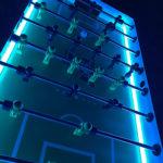 LED Tornado Foosball Arcade Game Adjustable Glowing Lights for Rent