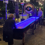 Lighted LED-Glow Shuffleboard Game event rental San Jose Bay Area