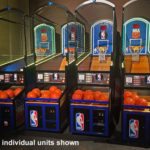 NBA Hoop LED Basketball Arcade Game Rental Los Angeles from Video Amusement