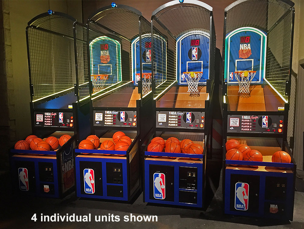 NBA Hoops LED basketball lighted game an evening event