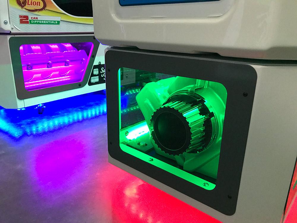 Daytona Championship USA 3 colorful display of lights