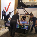 Galaxy Quad air hockey is a popular game to rent from Video Amusement
