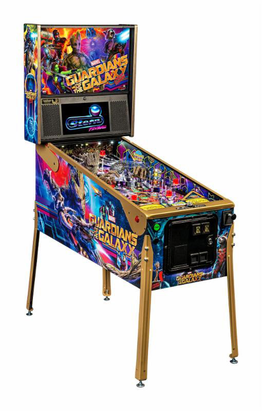 The latest pinball from Stern pinball