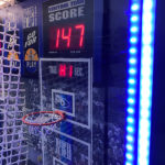 Interactive LED Hoop It Basketball Arcade Game Rental made by Video Amusement