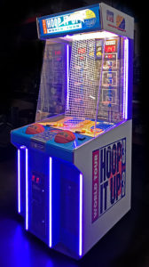 LED Hoop it up game is for rent from Video Amusement