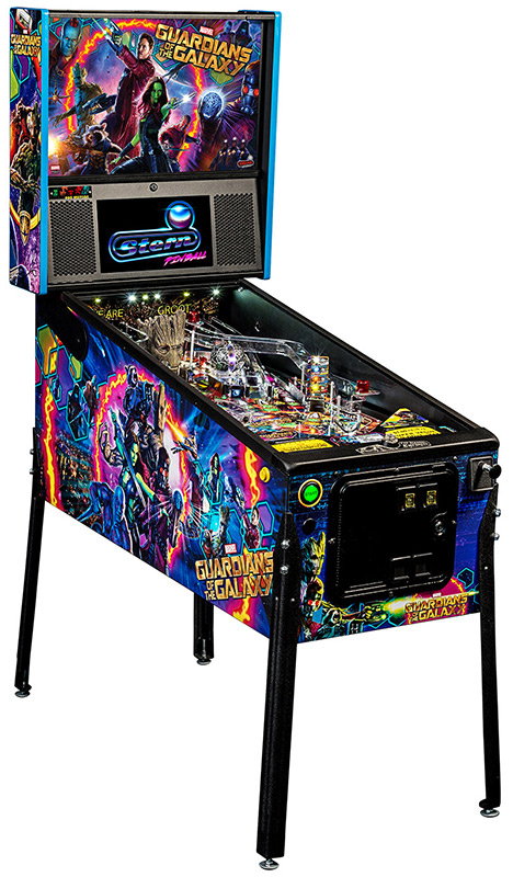 Guardians of the Galaxy Pinball Machine STERN Rental from Video Amusement