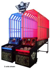 Hyper Shoot Basketball Arcade Game from LAI Games available from Video Amusement.