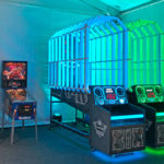 LED Basketball Lighted Arcade Game Rented for Google event from Video Amusement