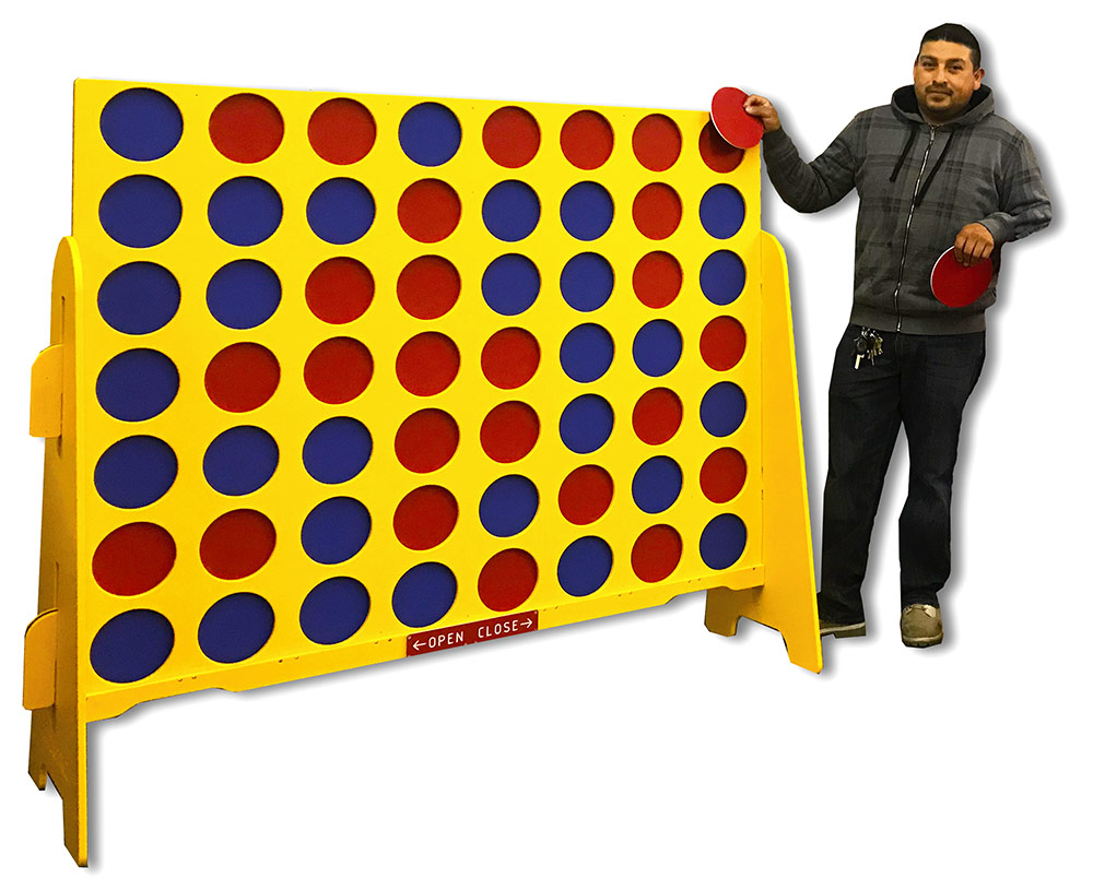 Double XL Giant Connect 4 Rental San Francisco