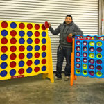 Double XL Giant Connect 4 for rent