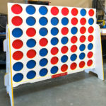 Giant XL Connect 4 Customized Branding Rental