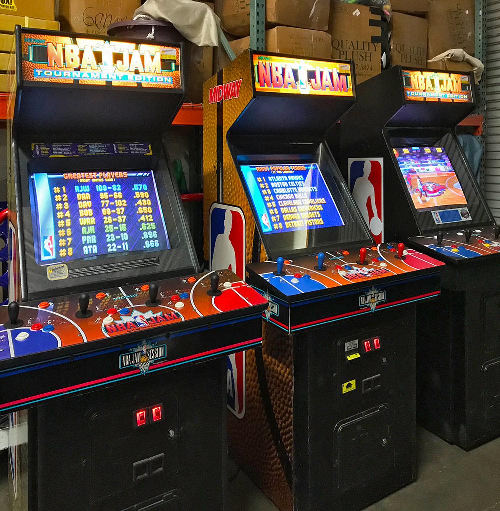 NBA Jam Arcade Game Rental from Video Amusement