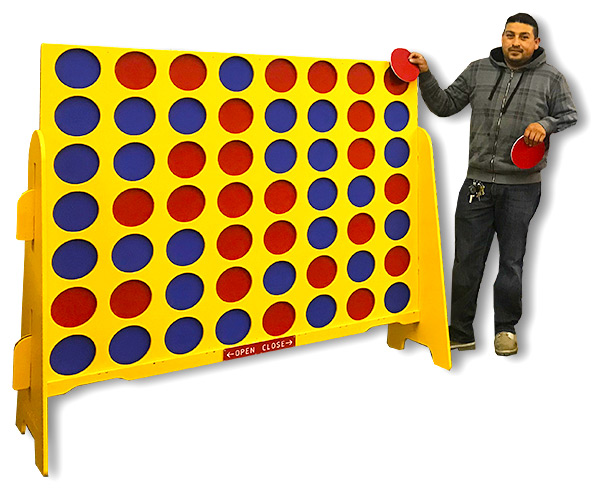 Double XL Connect 4 Game available from Video Amusement
