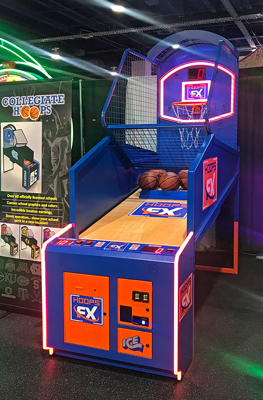 Hoops FX from ICE Games available from Video Amusement
